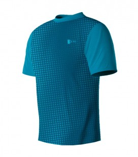 Running T-shirt Halftone Turquois