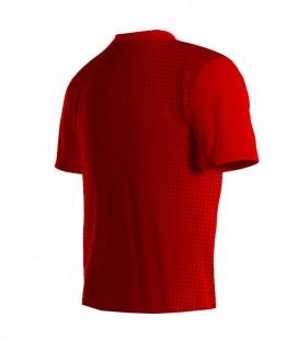 Running T-shirt Halftone Red