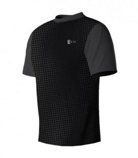 Running T-shirt Halftone Black