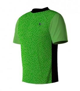 Running T-shirt Green Line