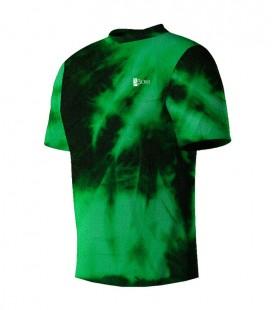 Running T-shirt Faded Green