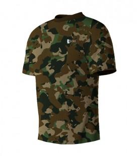 Running T-shirt Camo Green