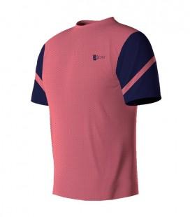 Running T-shirt Blue Pink