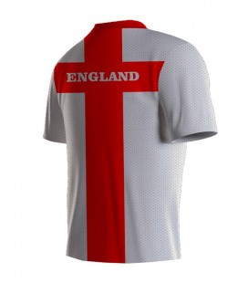 Running T-shirt England White