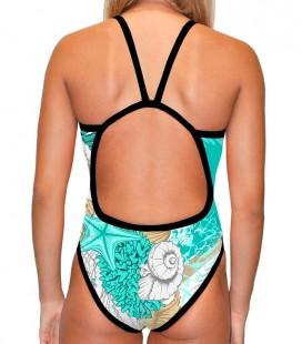 Classic Swimsuit Seashell
