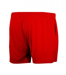 Short Halftone Red