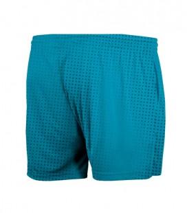 Short Halftone Turquoise
