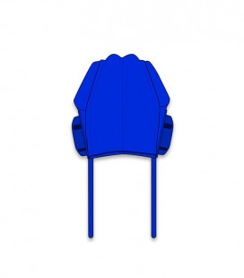 Padded Cap Basic Blue