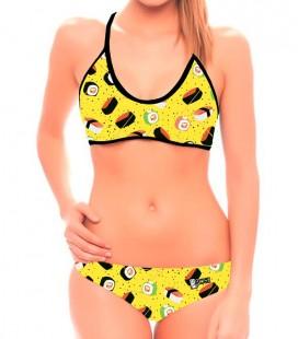 Bikini Sushi Yellow