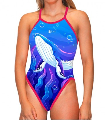Classic Swimsuit Whale