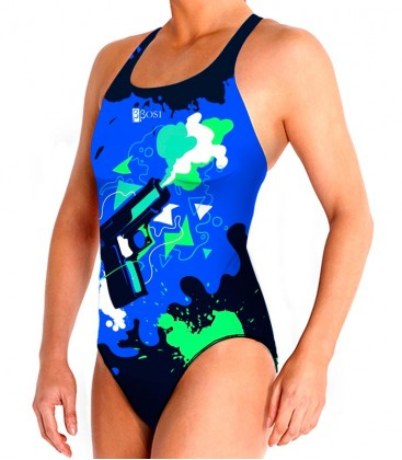 Waterpolo Gunshot Woman