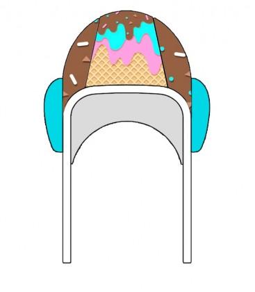 Waterpolo Cap Ice Cream